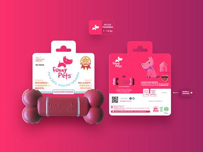 Funny Pets packaging petshop pets pet logo ui graphic design illustrator illustration vector design branding packagingdesign packaging design packaging