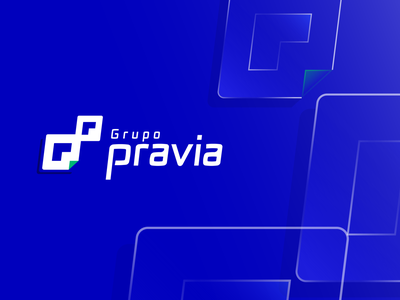 Pravia logodesign imagotype logo design logotype typography icon minimal logo flat graphic design illustrator design vector