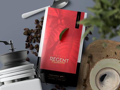 Packaging⚡Regent Premium Coffee pack brand logomarca identity packages package mockup design grids embalagem packaging design packaging package design package packagedesign