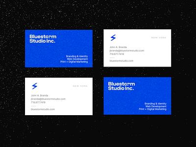 Identity   Bluestorm Studio Inc. brand design graphic design business card type stationery brand identity design branding logo identity branding brand identity