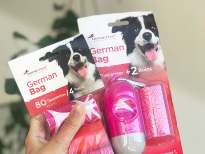 """""""GermamBag"""" product line - made for pets identity embalagens packaging design packages package mockup package design packagedesign embalagem packaging package"""