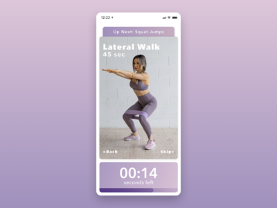 Daily UI 062—Workout of the Day workout of the day ui design ui interface figma design dailyuichallenge daily ui 062 daily ui dailyui daily 062 daily app design app