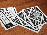 Nate Thor Odden Business Cards