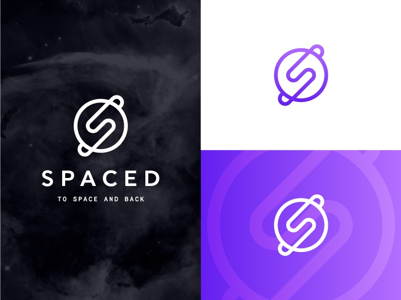 Spaced Challenge travel outer space s mark logo petty dann spaced spacedchallenge