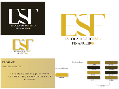 Logo ESF typography adobe illustrator cc logotype logodesign logo digitalart vector illustration design