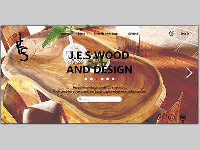 J.E.S icon branding ux designs adobe photoshop adobe xd web design website web design