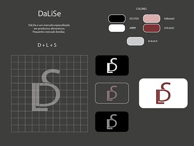 Dalise typography adobe illustrator cc logodesign logotype logo vector illustration design