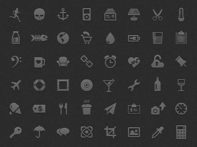 Icons icons retina display mobile iphone