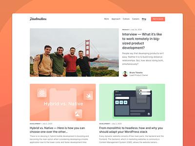 Pixelmatters • Blog development design blog posts blog post web design website design website blogging blog