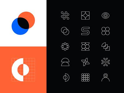Pixelmatters Rebranding • Iconography branding design branding concept brand and identity brand identity brand design icon design iconography icons rebranding rebrand branding brand