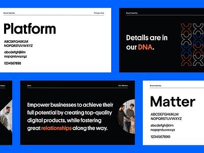 Pixelmatters Rebranding • Typography & Brandbook fonts font typography brand book brand identity branding brand identity design brand identity rebranding rebrand branding brand branding design