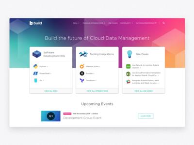 Rubrik • Build Homepage