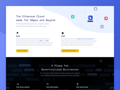 iExec • Homepage Detail