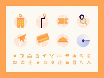 SendEAT • Icon Set