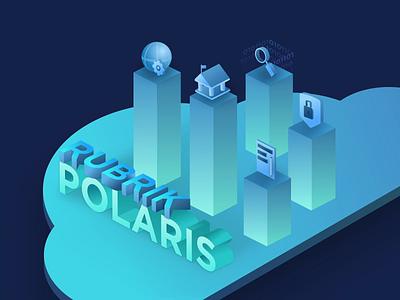Rubrik • Polaris Animation web development uxdesign ux uiux uidesign ui product marketing illustration cloud data management animation design animation after effects animation analytics