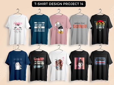 Typography t-shirt design project 14 art typography illustration clothing