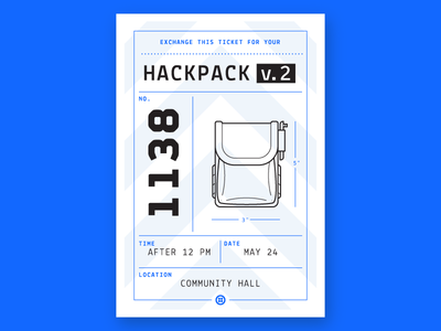 Hackpack Claim Ticket