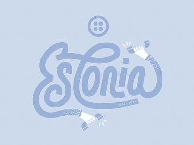 Call Estonia t shirt shirt silly fun playful phone hands lettering