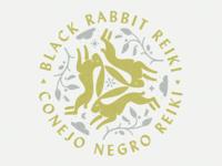 Black Rabbit Reiki Logo
