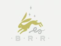 Black Rabbit Reiki secondary logo