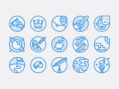 Twilio icon set owl icon minimal mono line simple set icons
