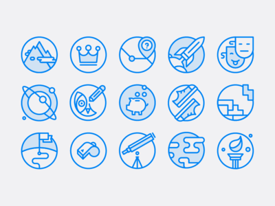 Twilio icon set