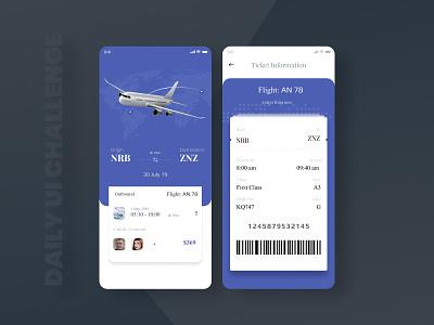 Flight booking application ui flight app flight booking figma ui