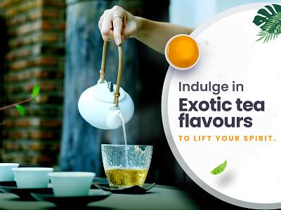 Tea advertisement #blog tea advertisement blog advertisement adobe photoshop tea