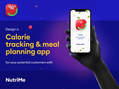 Nutrition Info Mobile App health nutrition cooking branding ux vector design app ui figma