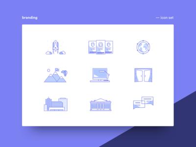 Icon Set design icons branding