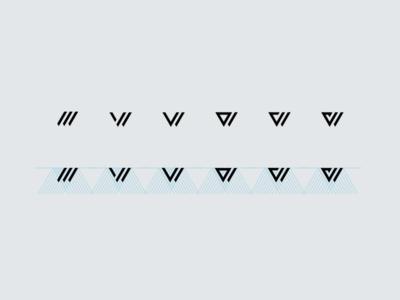 W - Shape Exploration exploration icon logo shape