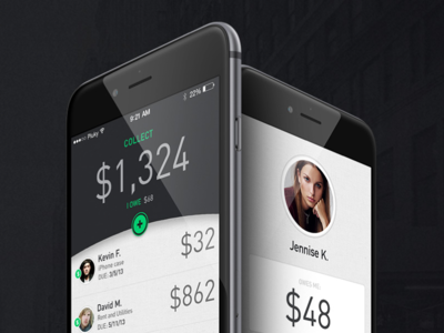 Collect App - 2012 onboarding on boarding mobile app design mobile design design ios design app design