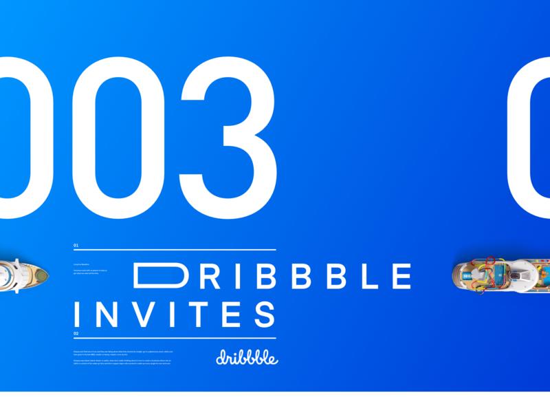 3 Dribbble Invites vector mobile app design digital design design ux ui daily ui