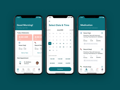 Medical App iOS Design medication pharmacist pharmacy pharmaceuticals pharmaceutical pharma medical app medical app design app ios ux ui