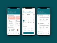 Medical App iOS Design medication pharmacist pharmacy pharmaceuticals pharmaceutical pharma medical app medical app design app ios ux ui