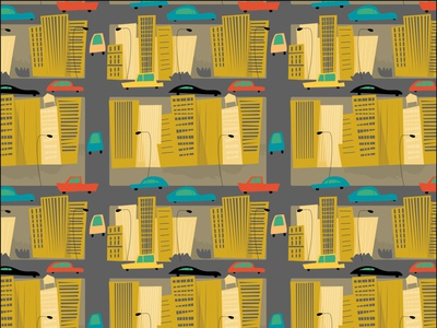 City surfacepattern middle grade illustration illustration children book