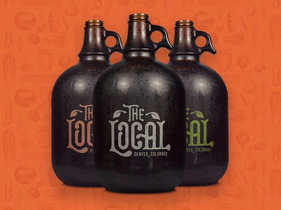 The Local - Beer Growlers