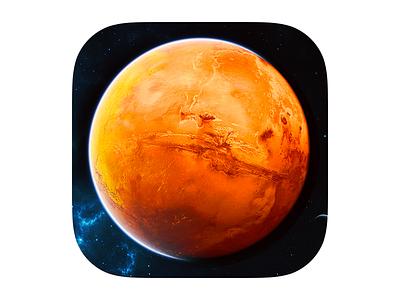 Mars iOS7 icon iphone icon mars space planet ios7 icons ios