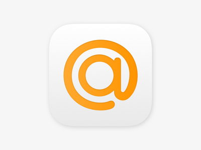Mail.ru iOS icons concept mailru mail.ru app icon cloud post mail icons ios