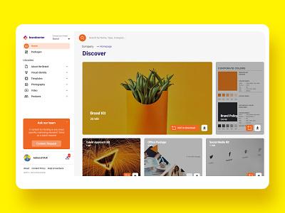 Brandcenter UX/UI web app webdesign uxui ux