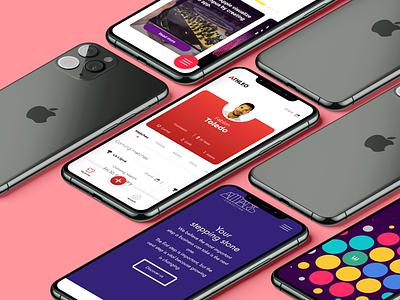 Pixel Alliance - Mobile Designs mobile app mobile uxui