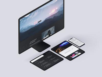 Novelab New Website vr ar webdesign web ux interaction