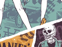 Social Distortion & Jack Daniel's illustration collab