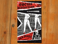 Social Distortion & Jack Daniel's illustration