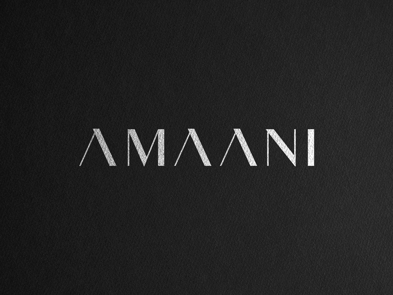 AMAANI Case Study signage box packaging serif logo effendy logo mens fashion thobes branding luxury branding brand identity identity design wordmark logotype apparel fashion luxury menswear amaani case study