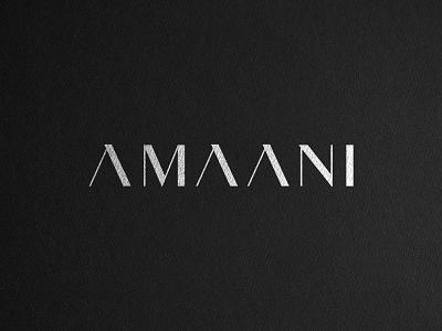 AMAANI Case Study signage box packaging serif logo effendy logo mens fashion thobes branding luxury branding brand identity identity design wordmark logotype apparel fashion luxury menswear amaani case study