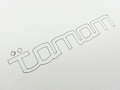 Tamam Sketch meetup ali process lettering typography tamam effendy sketch app mobile logo arab