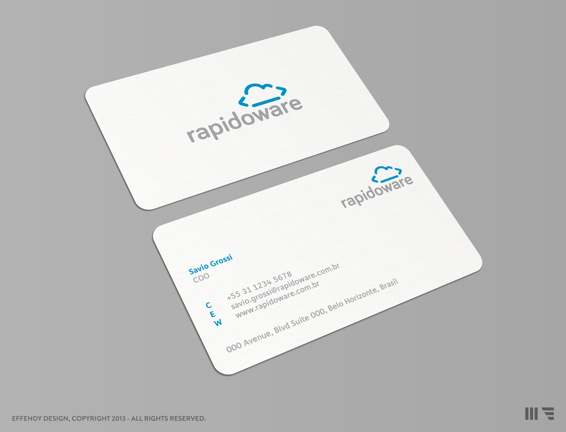 Rapidoware business card large