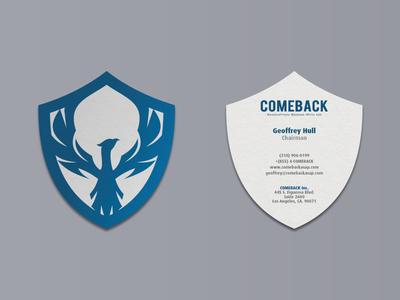 Comeback Business Card