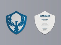 Comeback Business Card